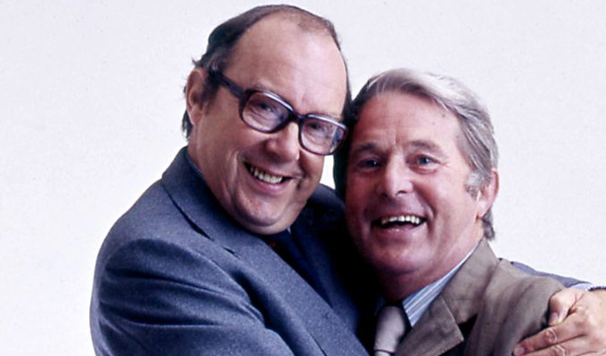 Morecambe and Wise are still the best-remembered Christmas shows | Comedy duo top poll