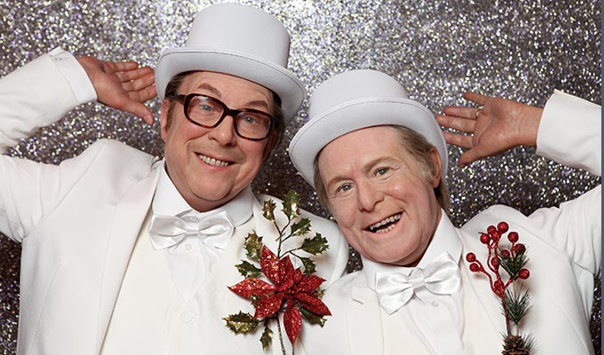 All the right names, but not necessarily in the right order | Madame Tussauds mix up Morecambe and Wise