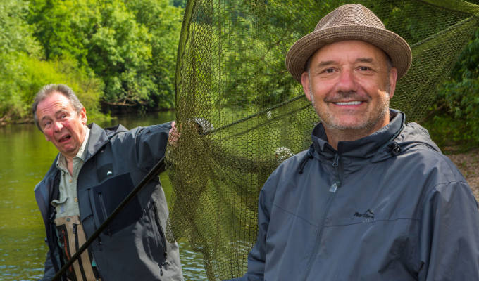 Mortimer & Whitehouse net another series of Gone Fishing | BBC Two orders six more episodes