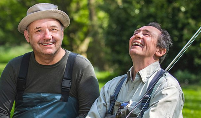 Mortimer and Whitehouse net another fishing series | ...and The Misadventures Of Romesh Ranganathan to return too