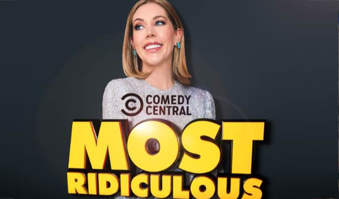Katherine Ryan to voice Comedy Central's Most Ridiculous | Taking over from DJ Greg James