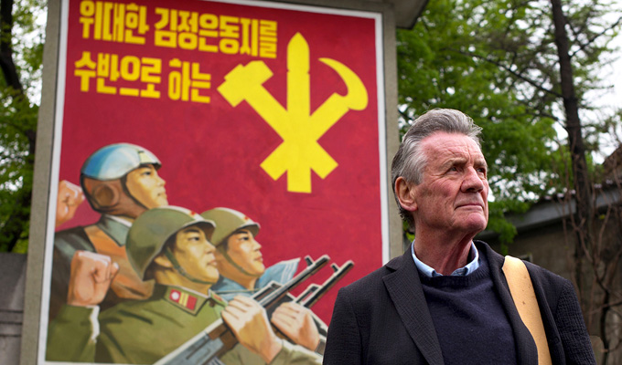 Michael Palin shoots travel documentary in North Korea | It's Monty Pyongyang's Flying Circus