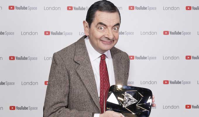 Mr Bean hits 10million YouTube subscribers | Rowan Atkinson's alter-ego joins the site's elite