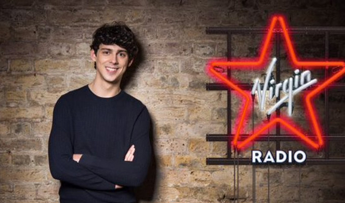 Matt Richardson joins Virgin Radio | Drivetime slot for comedian