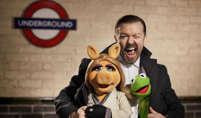 Muppet sequel: Trailer released | With Ricky Gervais and Tina Fey