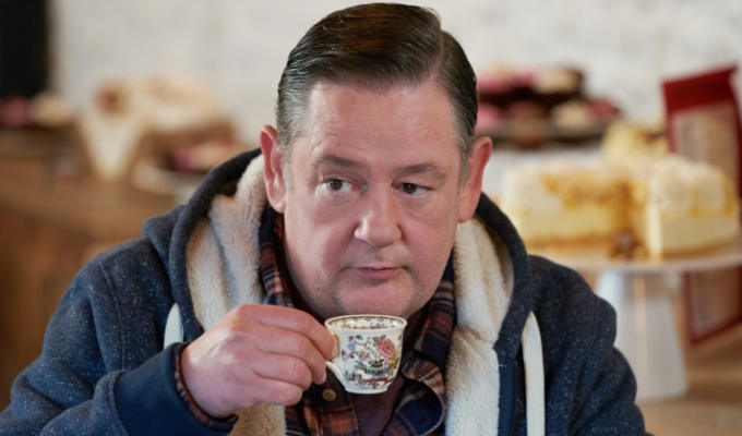 'Everybody's hamming it up... it's not Bleak House!' | Johnny Vegas on Murder They Hope