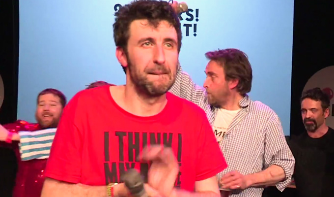 27 hours later... | Watch highlights of Mark Watson's marathon challenge