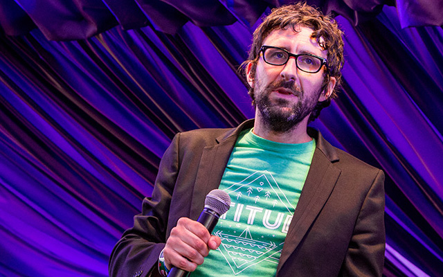 Mark Watson to stage another 24-hour show | Online gig aims to rebuild society... 'in a silly way'