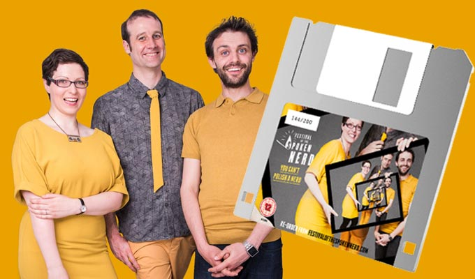 Is this peak nerd? | Comedy trio release their new show on floppy disc