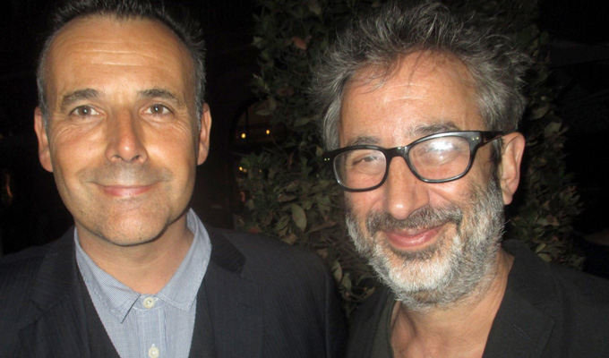 Newman and Baddiel, together again | Relationship thaws at literary party