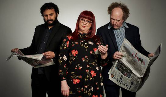 News Quiz announces THREE new hosts | Comics take one series of the Radio 4 panel show each