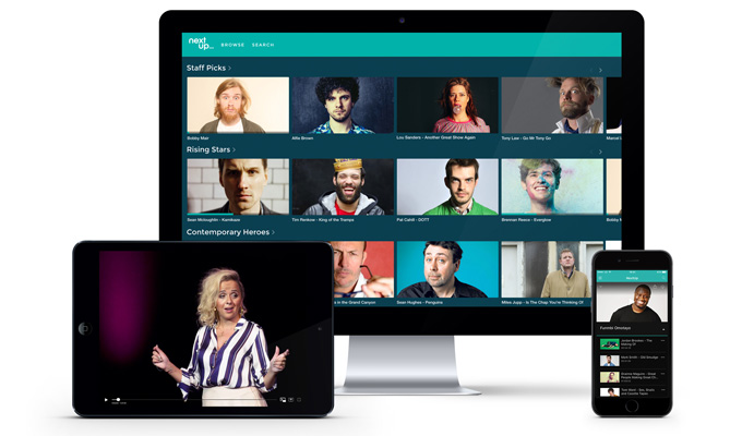 NextUp comes to Apple TV | New app for stand-up subscription service