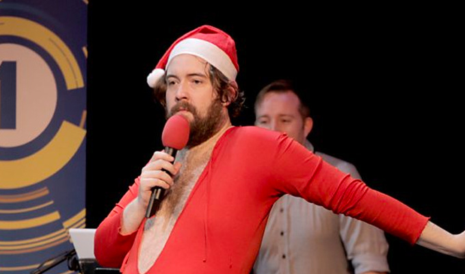 Who's on Nick Helm's naughty list? | Comic bans 'bellends' from his show