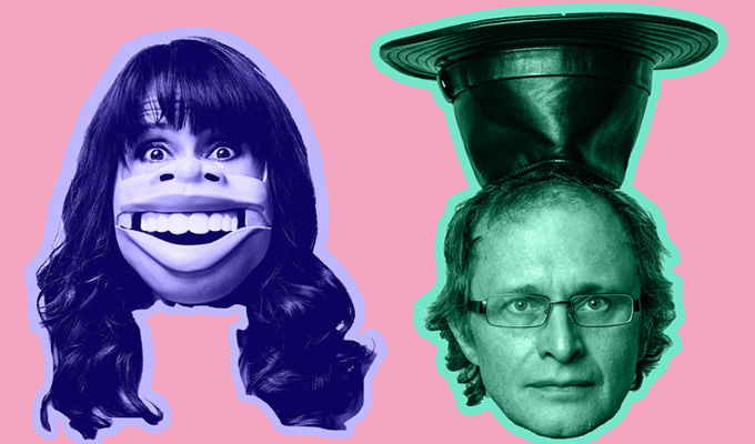 Nina Conti and Simon Munnery Whack It Up The Flagpole
