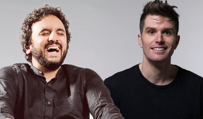 Comedy Central buys Nish Kumar & Joel Dommett travelogue | ...and pilots a new topical show from the pair