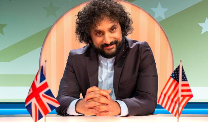 Goodbye America | Quibi, home of Nish Kumar's topical US show, to close