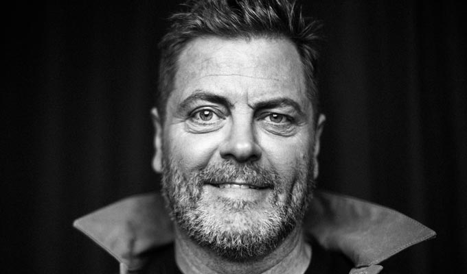 Tour dates for Nick Offerman | Parks and Rec star to hit the UK