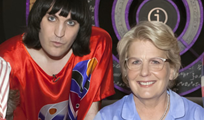 Noel Fielding joins Great British Bake Off | With Sandi Toksvig
