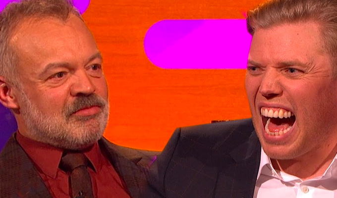 'I sold you a bag of shit!' | Rob Beckett on Graham Norton's show