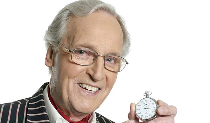 Nicholas Parsons has been admitted to hosptial | Pal Gyles Brandreth says the 95-year-old 'is in good form'