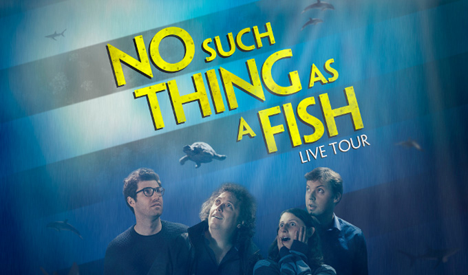 The QI Elves: No Such Thing As A Fish Live Tour