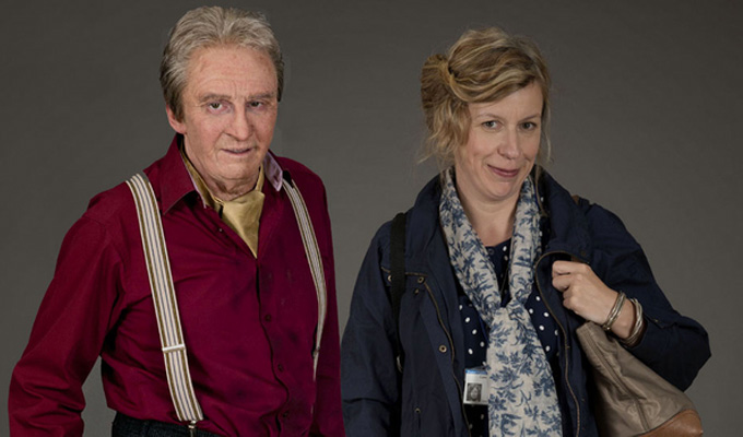 Paul Whitehouse's new comedy | Reuniting with his Nurse co-star Esther Coles