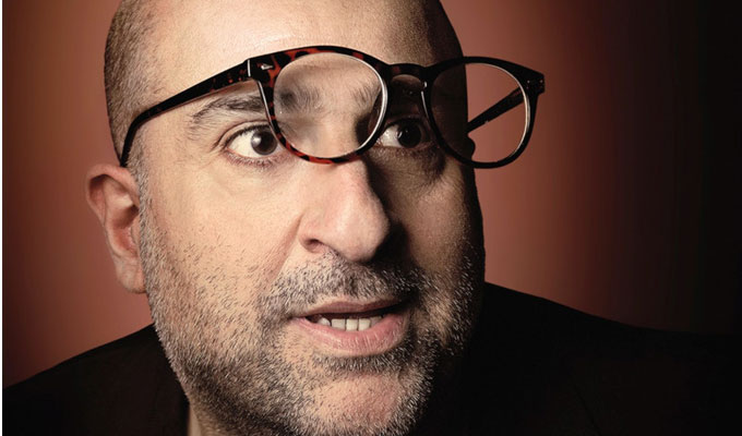 Omid Djalili: Work in Progress