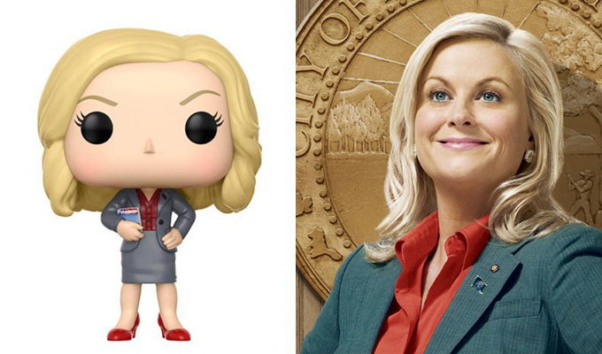 Leslie Knope's a real doll | Parks and Rec stars become figurines
