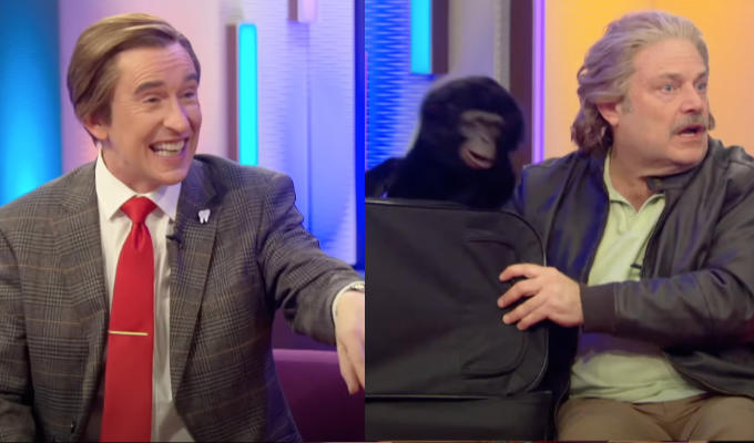 Together again: Alan Partridge and Cheeky Monkey | John Thomson's entertainer Joe Beasley to appear on This Time