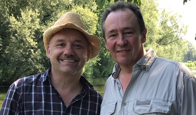 Fishing for funnies | BBC angling show for Paul Whitehouse and Bob Mortimer