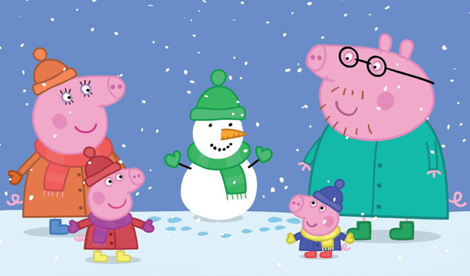 David Mitchell and Jo Brand join Peppa Pig cast | ...as it heads to cinemas