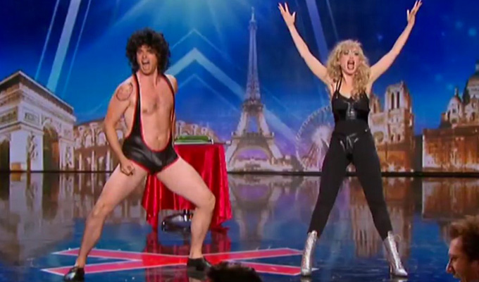 Incroyable! Peter and Bambi Heaven do France's Got Talent | And make the semis...