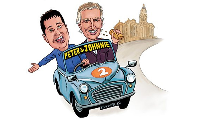 Peter Kay car shares with Johnnie Walker | Hear a preview of Radio 2 special