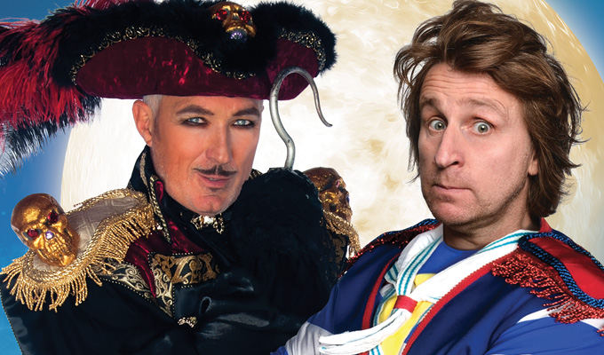 Milton Jones to star in his first panto | Playing Mr Smee in Peter Pan arena tour