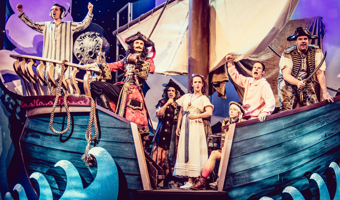 Peter Pan Goes Wrong, BBC One | TV review by Steve Bennett