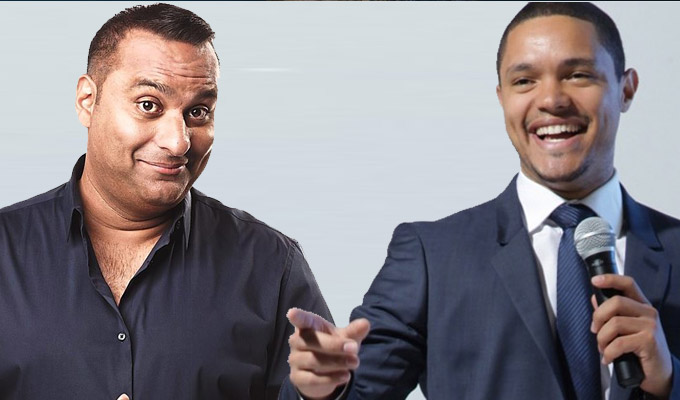 'He's a thieving MF' | Russell Peters accuses Trevor Noah of plagiarism again