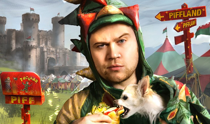 'Out came the dragon outfit and I never looked back...' | Piff on his most memorable gigs