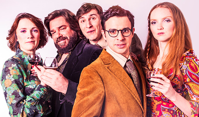 We're high and mighty... and utterly degenerate | Meet the cast of West End play The Philanthropist