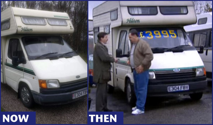 Phoenix Nights van fails to sell : Punching Up 2020 :     Chortle : The UK Comedy Guide