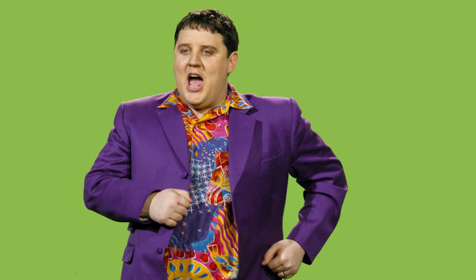 Making an exhibition of himself... | Museum buys Peter Kay's purple Amarillo suit