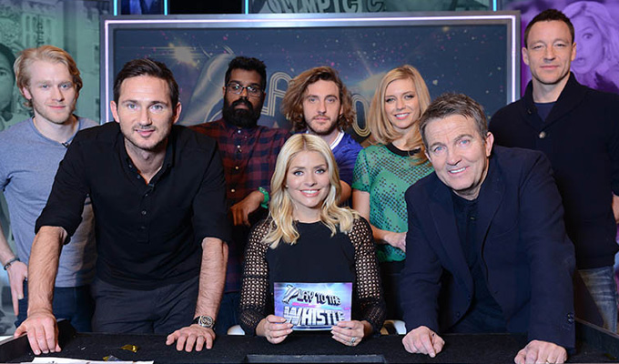 Final whistle for Play To The Whistle | ITV drops panel show