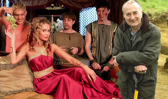 Tony Robinson joins Plebs | All guest stars named, with the Time Team host playing an archaeologist
