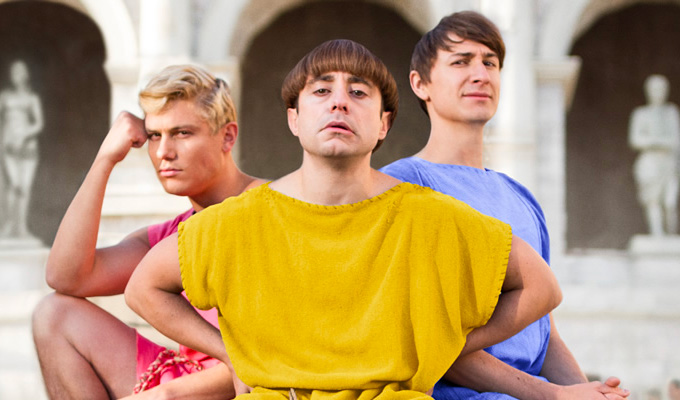 Friends, Romans, Countrymen... you could win a DVD | Plebs box sets up for grabs