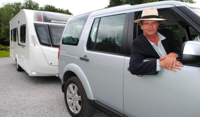 Motorhoming with Paul Merton... | Comic and wife Suki Webster to tour the UK for Channel 5