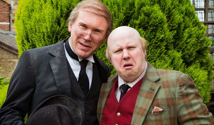 Shooting starts on Matt Lucas's Pompidou | First silent comedy series in 20 years