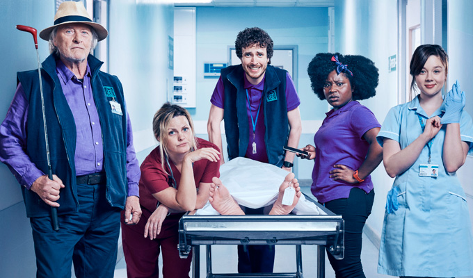 'Behind every hospital drama is strange, twisted comedy' | Dan Sefton on his new sitcom, Porters