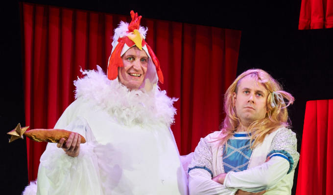 Potted Panto | Theatre review by Steve Bennett