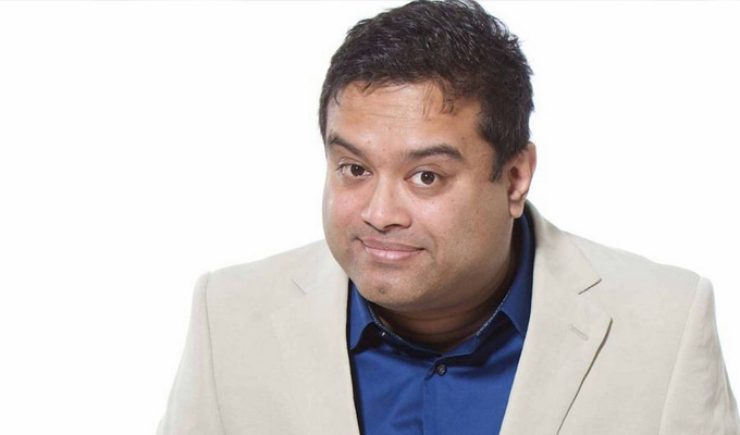Paul Sinha is a Stand Up Comedian
