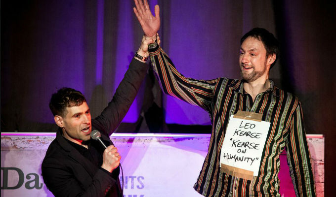 The UK Pun Championships 2015 | Review from Dave's Leicester Comedy Festival
