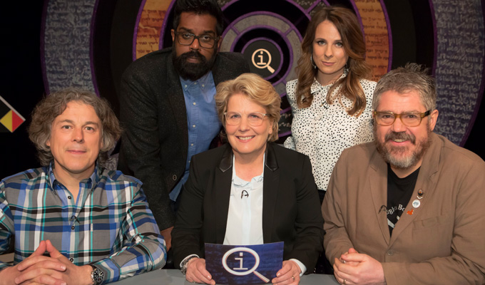 QI goes to Latitude | Alan Davies and Sandi Toksvig in live festival edition